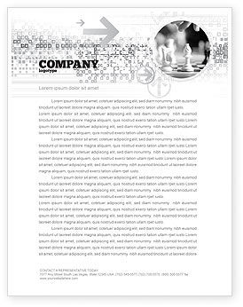 Sports: Strategic Position Letterhead Template #02755