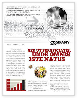 Sports: Strategic Position Newsletter Template #02755