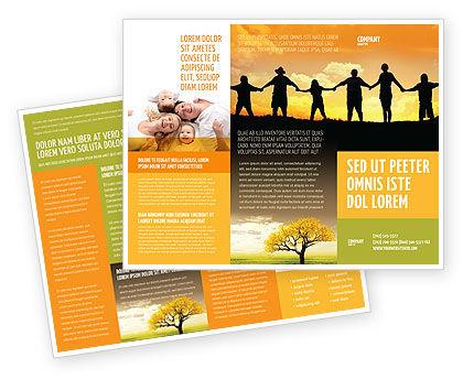 Religious/Spiritual: Family Brochure Template #02761