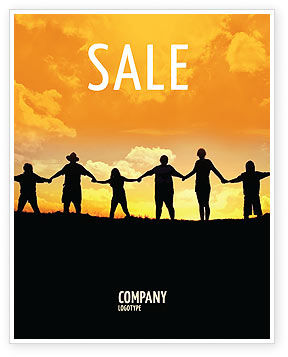 Family Sale Poster Template, 02761, Religious/Spiritual — PoweredTemplate.com