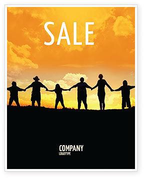 Religious/Spiritual: Family Sale Poster Template #02761
