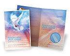 Religious/Spiritual: Plantilla de folleto - santa bendición #02764