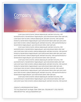 Holy Benediction Letterhead Template, 02764, Religious/Spiritual — PoweredTemplate.com