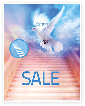 Holy Benediction Sale Poster Template, 02764, Religious/Spiritual — PoweredTemplate.com