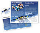 Art & Entertainment: Party DeeJay Brochure Template #02786
