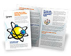 Education & Training: Atom Brochure Template #02803