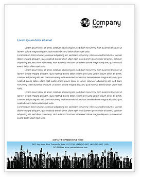 Business: City Letterhead Template #02814