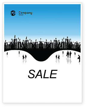 Business: City Sale Poster Template #02814