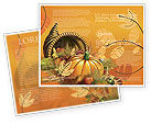 Holiday/Special Occasion: Thanksgiving Day Brochure Template #02819