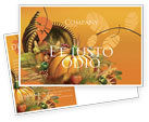 Holiday/Special Occasion: Thanksgiving Day Postcard Template #02819