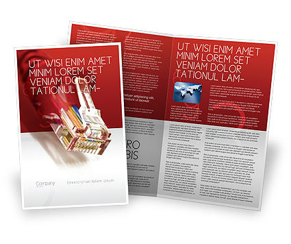 Technology, Science & Computers: Jumper Brochure Template #02823