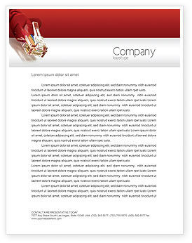 Technology, Science & Computers: Jumper Letterhead Template #02823