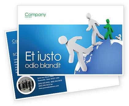 3D: Modello Cartolina - Legami mondo #02827