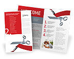 Holiday/Special Occasion: Cutting Red Tape Brochure Template #02829