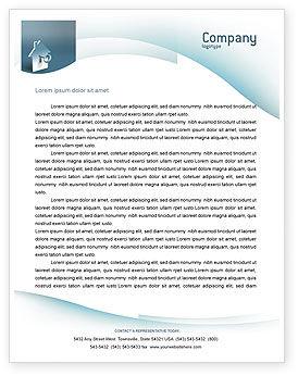 Business: Schlüsselloch Briefkopf Vorlage #02830