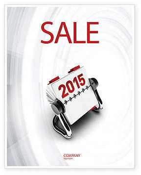 Throw-Over for 2015 Sale Poster Template