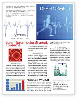 Medical: Pulse Newsletter Template #02839