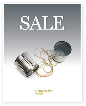 Business Concepts: Can Phone Sale Poster Template #02843