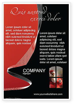 Holiday/Special Occasion: Santa Claus Coming Ad Template #02845