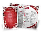 Holiday/Special Occasion: Christmas Theme Brochure Template #02848