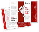 Holiday/Special Occasion: Santa Around the Corner Brochure Template #02849
