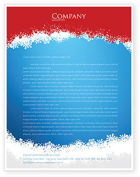 Holiday/Special Occasion: Christmas Songs Letterhead Template #02853