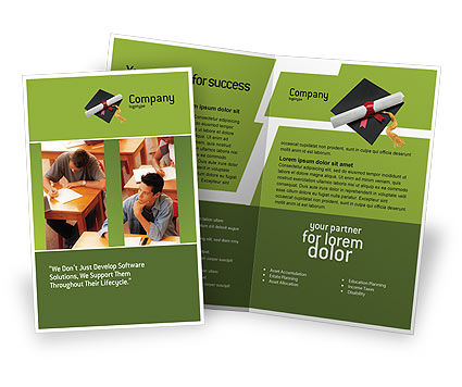 Certificate of Degree Brochure Template