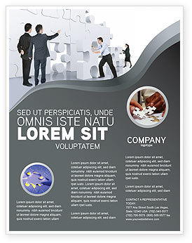 Business Concepts: Brainstorm Flyer Template #02856
