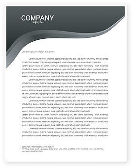 Brainstorm Letterhead Template, 02856, Business Concepts — PoweredTemplate.com