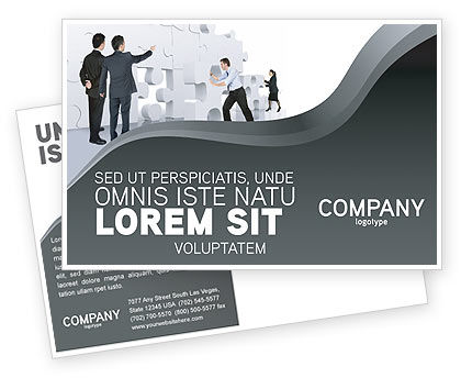 Business Concepts: Modello Cartolina - Brainstorm #02856