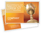Business Concepts: Award Postcard Template #02858