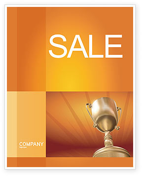 Award Sale Poster Template, 02858, Business Concepts — PoweredTemplate.com