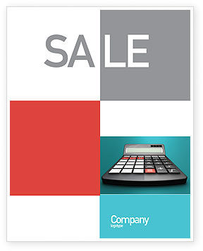 Technology, Science & Computers: Computation Sale Poster Template #02861