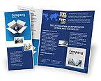 Global: Modelo de Brochura - globo na caixa #02864