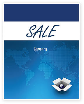 Globe In The Box Sale Poster Template