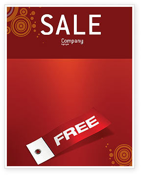Label Sale Poster Template, 02865, Abstract/Textures — PoweredTemplate.com