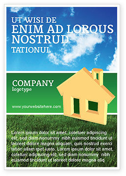 Accommodation Ad Template
