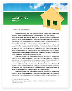 Business: Accommodation Letterhead Template #02866