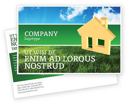Business: Modèle de Carte postale de hébergement #02866