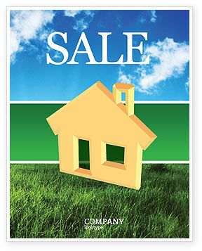 Business: Accommodation Sale Poster Template #02866