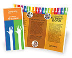 Education & Training: Counting Brochure Template #02868
