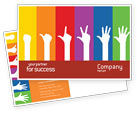 Education & Training: Counting Postcard Template #02868