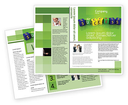 Business Concepts: Success Brochure Template #02869