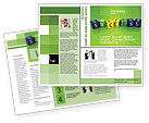 Business Concepts: Plantilla de folleto - éxito #02869