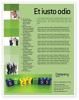 Business Concepts: Templat Flyer Keberhasilan #02869