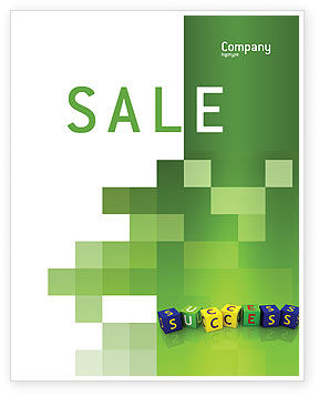 Business Concepts: Success Sale Poster Template #02869