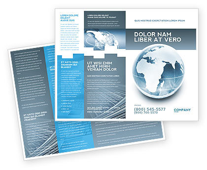 Global: Crystal World Brochure Template #02876