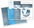 Global: Modèle de Brochure de monde cristallin #02876