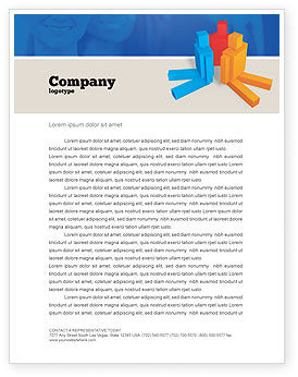 Interpersonal Attitudes Letterhead Template, 02880, Technology, Science & Computers — PoweredTemplate.com