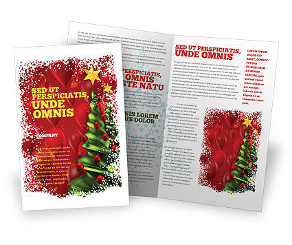 Holiday/Special Occasion: New Year Celebration Brochure Template #02885